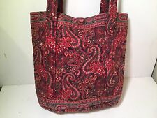Vera Bradley small tote 1990s vintage Paisley pattern very early near perfect