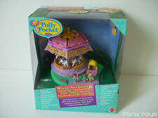 ►►►► Polly Pocket / Fun Fair Spin Pretty Carousel 17923 [Full/Boxed]