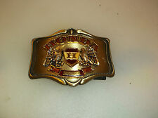 Honda Motorcycle 1978 Double Eagle AHM Belt Buckle Brassy Color