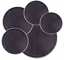 Flats/traps Mesh drum silencer set.Tuneable