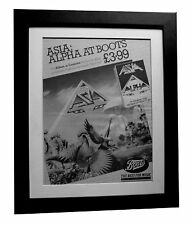 ASIA+Alpha+POSTER+AD+RARE+ORIGINAL 1983+TOP QUALITY FRAMED+EXPRESS+GLOBAL SHIP