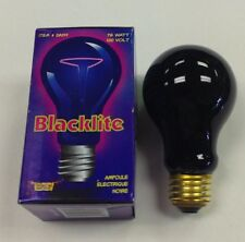 75 Watt Black Light Bulb Black Lamp Bulb Great Party Light -Halloween Party