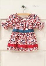 NWT MATILDA JANE Hello Lovely CRIMSON CUTIE Red Floral Top 2 2T