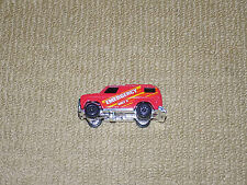 1980, KENNER FAST 111'S RED CHEVY EMERGENCY VAN DIECAST CAR, EXCELLENT CONDITION