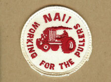 Vintage Working for the Pullers, NAII, Tractor Pulling Patch