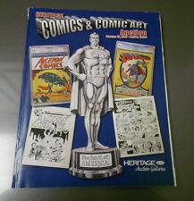 2007 HERITAGE Comics Comic Art Auction Catalog Superman ACTION #1 204 pgs