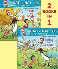 Spring into Summer!Fall into Winter!(Dr. SeussCat in the Hat) (Deluxe Picturebac