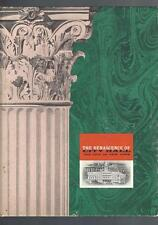 The Renascence Of City Hall, New York City,1956 Restoration. History +++++