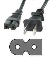 "6ft AC Power Cord Flat 2 Prong for Sansui Sansui HDLCD 19"" 22"" 26"" 32"" LCD HD TV"