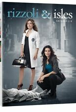 ❏ Rizzoli & Isles Seasons 1 - 5 Complete Series Collection DVD ❏ 1 2 3 4 and 5