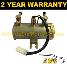 12V ELECTRIC UNIVERSAL PETROL DIESEL FUEL PUMP FACET RED TOP STYLE CAR VAN