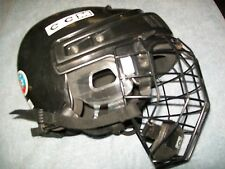 CCM 652M HOCKEY HELMET W/ MATCHING CAGE, CERTIFIED AND READY TO USE IMMEDIATELY