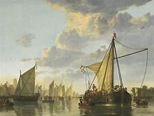 AELBERT CUYP DUTCH MAAS DORDRECHT OLD ART PAINTING POSTER PRINT BB4755A