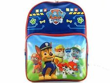 "Blue  Paw Patrol School Backpack-   Blue 16"" New PAWB Great for Kindergarten"