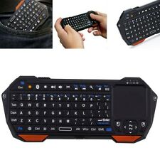 3 in 1 Bluetooth Multimedia Wireless Keyboard Tastatur mit Touchpad QWERTY DE