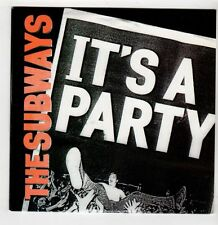 (GS815) The Subways, It's A Party - 2011 DJ CD