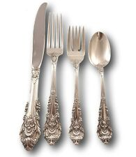 Sir Christopher by Wallace Sterling Silver Flatware Service Set 16 pieces New