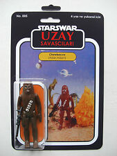 Retro Star Wars Chewbacca Aslan Adam Uzay savascilari Custom Bootleg MOC