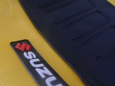 SEAT COVER ULTRA GRIP SUZUKI DR 350! YELLOW & BLACK..EXCELLENT QUALITY!