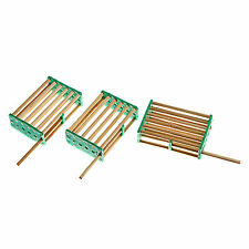 10Pcs Bamboo Queen Keeping Moving Cage For Bee Hive Beekeeping Catcher Honey Set