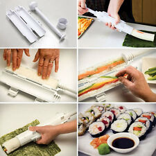 Chef Sushi Roll Maker Kit Sushezi Rice Roller Mold Mould Chef Kitchen DIY Set