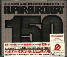 Super Eurobeat Vol.150 - Japan 2 CD+DVD - NEW DAVE SIMON MEGA NRG MAN VIRGINELLE