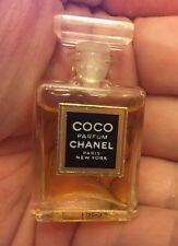 CHANEL COCO PARFUM PURE PERFUME MINI MINIATURE 0.12 OZ 3.5 ML RARE TO FIND