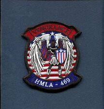 HMLA-469 VENGEANCE Japan USMC MARINE CORPS Attack Helicopter Squadron Patch 2