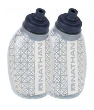 Nathan 4580NC Fire & Ice Flask, 8oz, Clear - 2 pack