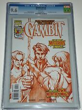 Gambit Issue 1 (v2 1999) CGC Graded 9.6 Queen of Diamonds Variant Cover
