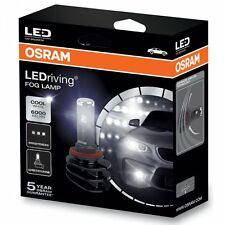 OSRAM LED Fog H8 H11 H16 6000K Xtreme Vision Twin pack bright white for Fog Lamp