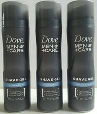 3 X Dove +Men Care Hydrate Shave Gel