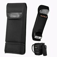 Nylon Portable Flash Battery Bag Case For Canon 430EX II 580EX Nikon SB600 SB800