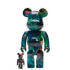 Medicom BE@RBRICK Pushead Blue Water 100% & 400% Bearbrick Set
