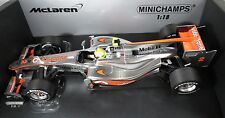 MCLAREN MERCEDES MP4-25 #2 Lewis HAMILTON F1 2010 race version MINICHAMPS 1:18