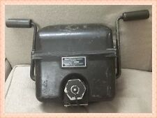 WW2 US Military Generator Direct Current G-43/G used 1917-1937
