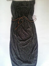 G21 Brown Dress with Leather Belt Size 12