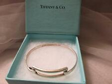 Tiffany & Co. 2003 Sterling Silver Hinged Bangle Bracelet
