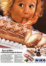 PUBLICITE ADVERTISING 054  1978  MIKO   glace  BANCO