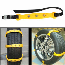 10pcs/Set Car Snow Tire Chains Beef Tendon Vehicles Wheel Antiskid TPU Chain New