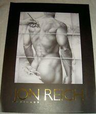 """Jon Reich Art Gallery  """"Transparancy III"""" poster  Male  nude  24"""" x 32""""  b & w"""