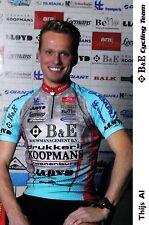 CYCLISME carte cycliste THIJS AL équipe B&E cycling team