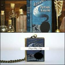 Collana con medaglione libro di pozioni Advance Potion Making Harry Potter