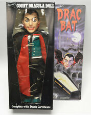 Dracula DRAC BAT 18in Doll Travelers Trading 1985 vintage Monster New in box!