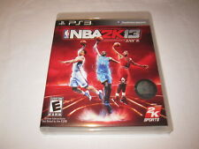 NBA 2K13 (Playstation PS3) Basketball Game Complete LN Perfect Mint!