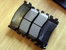 Rear disc brake pad set, Mazda Bongo 2.0i, 2.5 V6, 2.5 TD, Ford Freda, 4 x pads