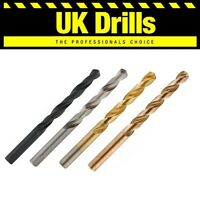 10 x HSS,TITANIUM (TIN),GROUND,COBALT - HIGH QUALITY DRILL BITS - LOWEST PRICE