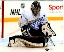 Anaheim Ducks JONAS HILLER Signed Autographed 8x10 Pic A