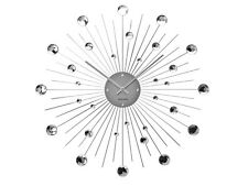 Karlsson Crystal Sunburst Wall Clock, Dimension 50cm