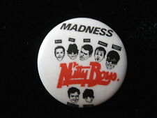 Madness-Ska-Nutty Boys With Names-Pin-Badge Button-80's Vintage-Rare-Original